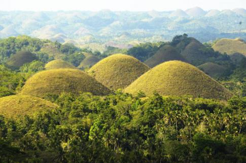 Bohol - Chocolate mountains