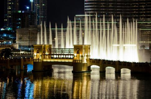 The Dubai Fountain - este